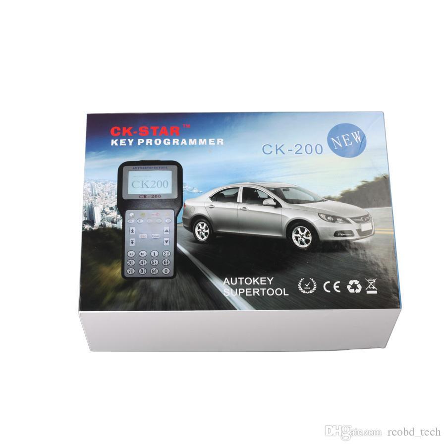 Best price V40.09 CK-200 Original CK200 Auto Key Programmer No Tokens Limitation Newest Generation Updated Version of CK-100