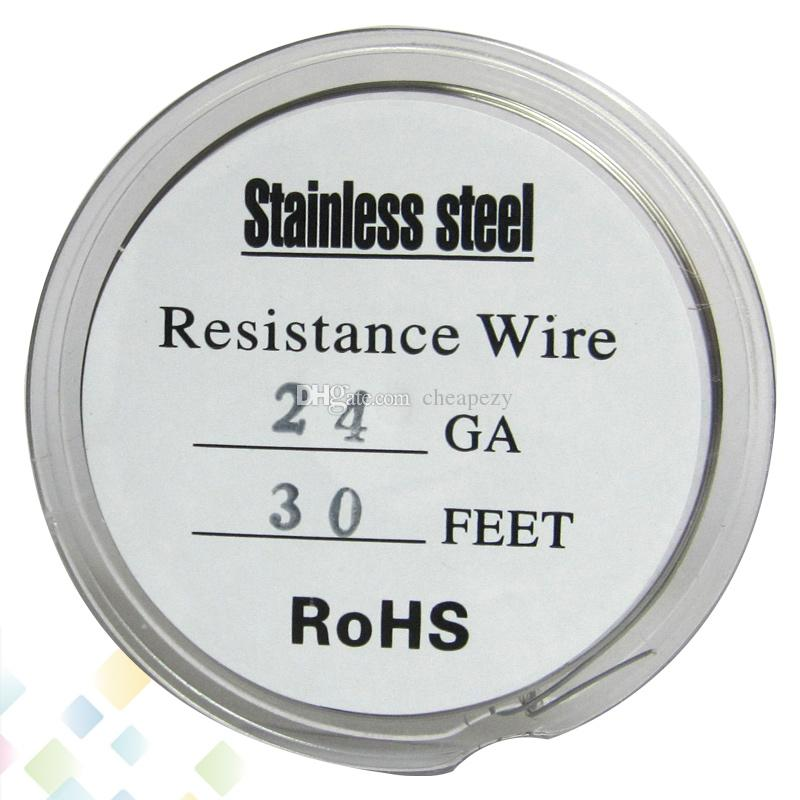 30 Feet Stainless Steel Wire Fast Heating Resistance Coil Awg 22 24 ...