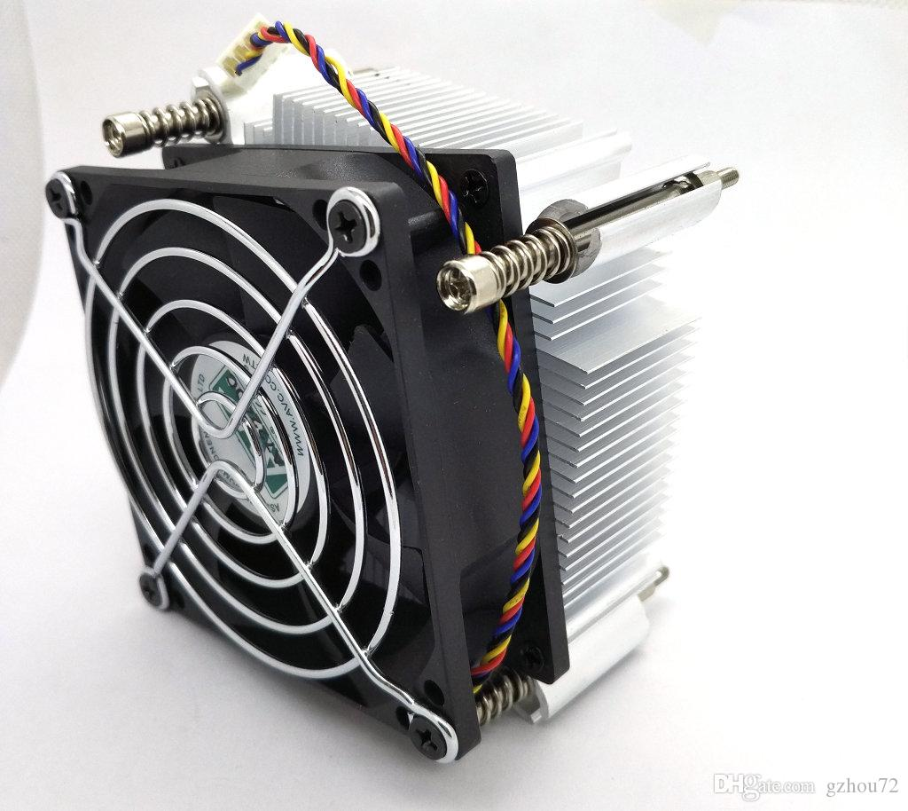 New Original AVC for Lenovo TD340 server original CPU cooler fan support E5 1356 XEON 1366