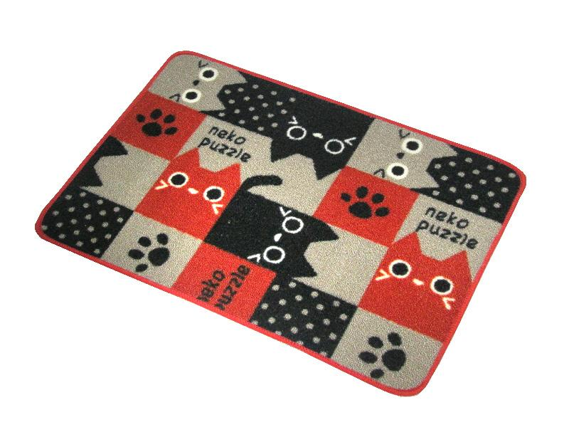 wholesale 45x60cm45x120cm latex slip cartoon cat bath mat for bathroom rugs machine wash bath mat with rubber backing bath mat rug mat towel online with - How To Wash Bathroom Rugs