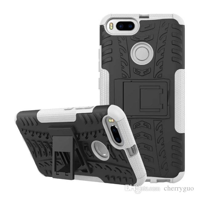 official photos 15956 5cd31 Shockproof Rubber Hard Armor Hybrid Rugged Case Protective Stand Cover for  Xiaomi Mi 5X/ Mi A1