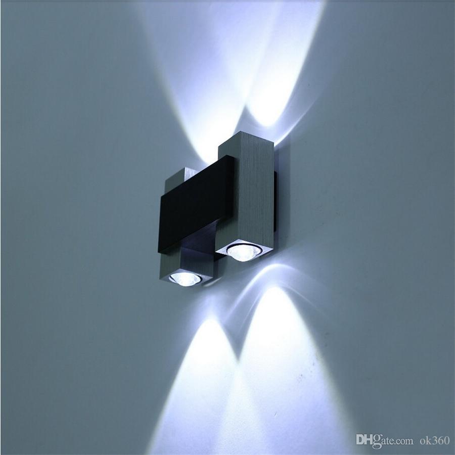 Moderne 265v Murale Décoration Led Design Chevet Down Intérieure Tv Fond Ac85 Up Lumière Lampe De L'hôtel bfgy76