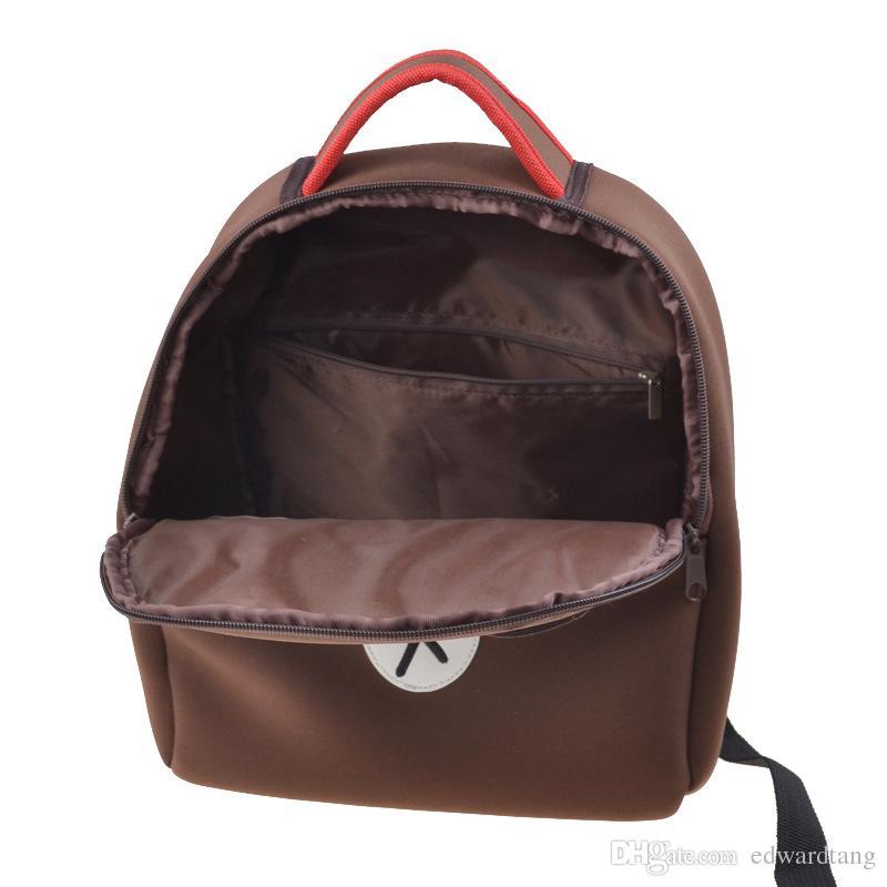 Cartoon Little Bear Students' Backpack, Waterproof Children Casual Bag,Cute Teddy Satchel Halloween Schoolbag,Kid' Christmas Gift,Collecting