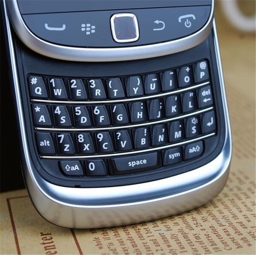 Refurbished Original Blackberry Torch 9810 Slide Mobile Phone 3.2 inch Touch Screen + QWERTY 8GB ROM 5MP Camera WIFI Free Post Shipping