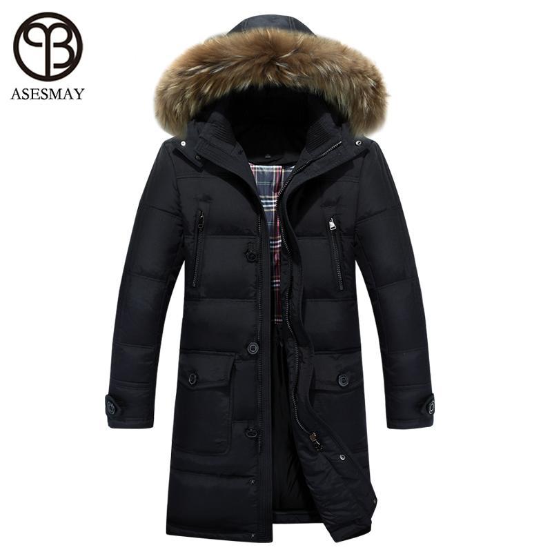 2018 Wholesale 2016 Luxury Brand Down Coat Men Parka Long Winter ...