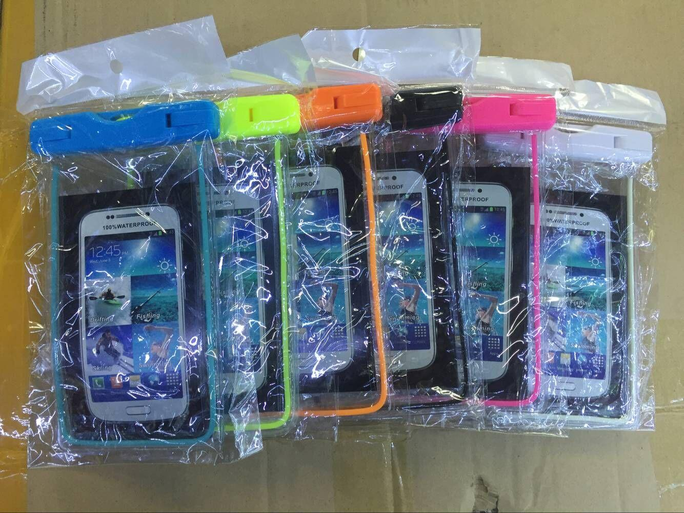Luiminous водонепроницаемый чехол сумка плавание дайвинг телефон чехол для iphone 7plus 7 Samsung s8pus s8 универсальный