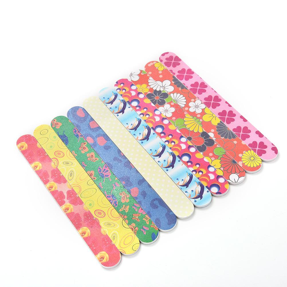 Wholesale Buffing Manicure Set Nail Art Sanding File Colorful ...