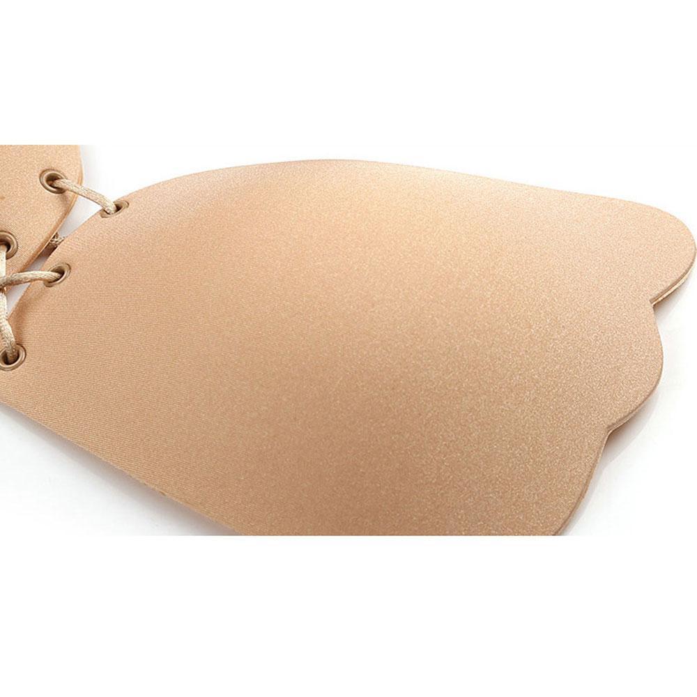 Mulheres Adesivo Vara Silicone Invisible Bra Vara Mágica Em Backless Liberdade strapless Bra Gel Empurrar O peito imediatamente