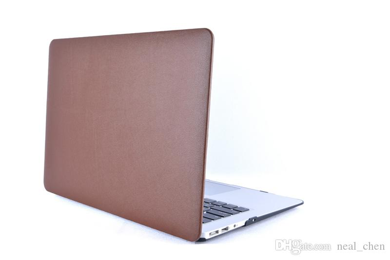 "PU Leather Cover Case [Front] For Macbook Air Pro Retina 11.6"" 13.3"" 15.4"" A1370 A1465 A1369 A1466 A1278"