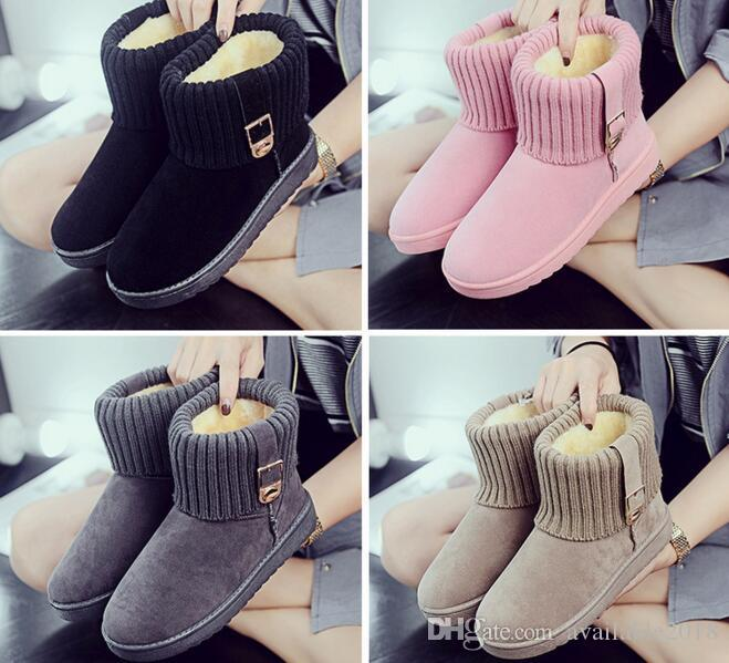 ae3552a8def84 Snow Boots 2018 Brand Women Winter Boots Mother Shoes Antiskid ...
