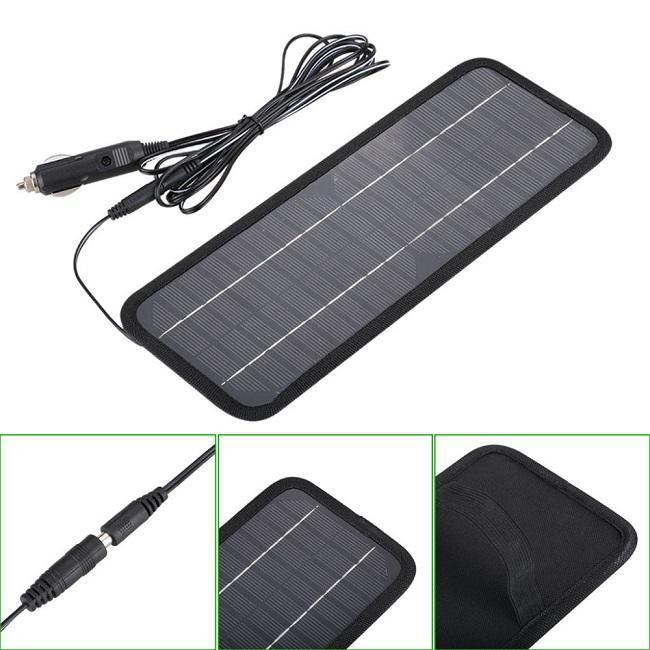 ¡Gran venta! Cargador de batería de 4.5W 12V Solor para la motocicleta del barco de los coches etc. de la batería del panel solar con el envío libre del cargador del coche