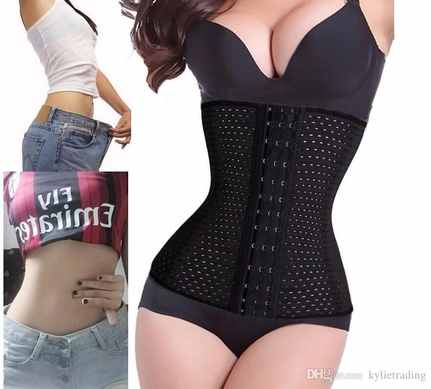 8214ad73d2129 10 Sizes Women Waist Trainer Corset Slimming Belt Body Shaper ...