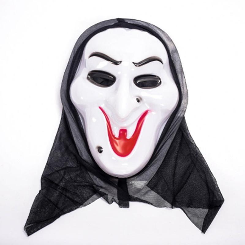 Acquista Maschera Di Halloween Costume Maschera Spaventosa Di Vampiro Strega  Ghost Maschera Maschera Di Cranio Skeleton Maschere Di Orrore Di Natale Di  ... ad5eafb7d1c4