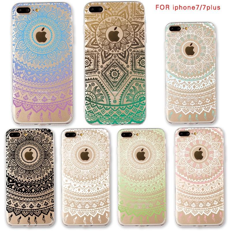 Cheap TPU Painted Mandala Phone Case For Iphone 7 7plus Iphone 6 6s 6plus  Dream Catcher Phone Case Rhinestone Cell Phone Cases Silicone Cell Phone  Cases ... 36c7815cf4e0