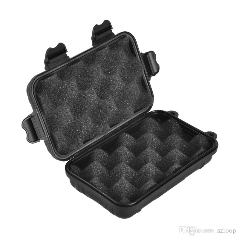 Открытый спорт передач противоударный водонепроницаемый коробка герметичный ящик EDC инструменты Дикий выживания ящик для хранения горячей продажи 2504046