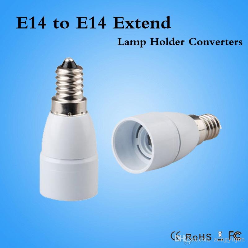 Lights & Lighting E10 To E14 Base Led Light Lamp Bulb Adapter Converter Durable Lighting Lamp Holder Screw Socket Copper Bulb Base Adapter Black