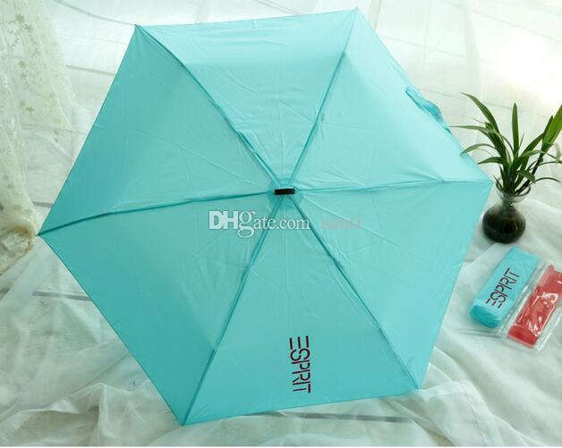 Hot Umbrella Mini Pockets Umbrella 165g Small Folding kid umbrella men sun rain gear Parasol