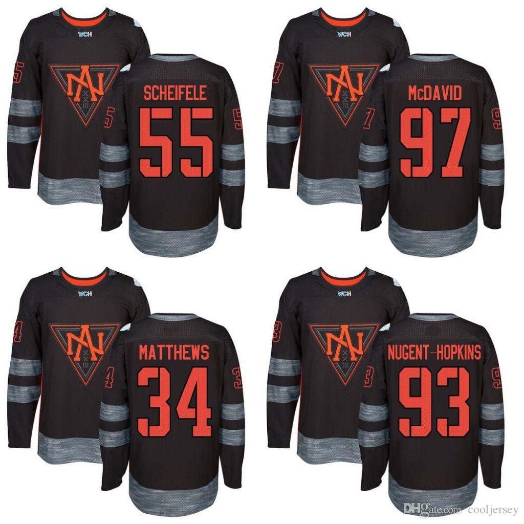 sports shoes 889f6 0baf4 connor mcdavid world cup jersey