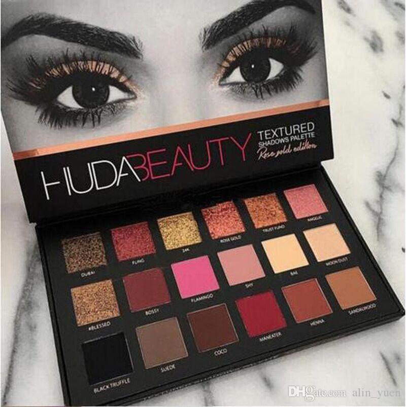 Hud Beauty Eyeshadow Makeup Rose Gold Textured Make Up Eye Shadow Hud  Beauty Palette Make Up With Bulk Price $3 52, Wholesale Red Eyeshadow  Simple Eye