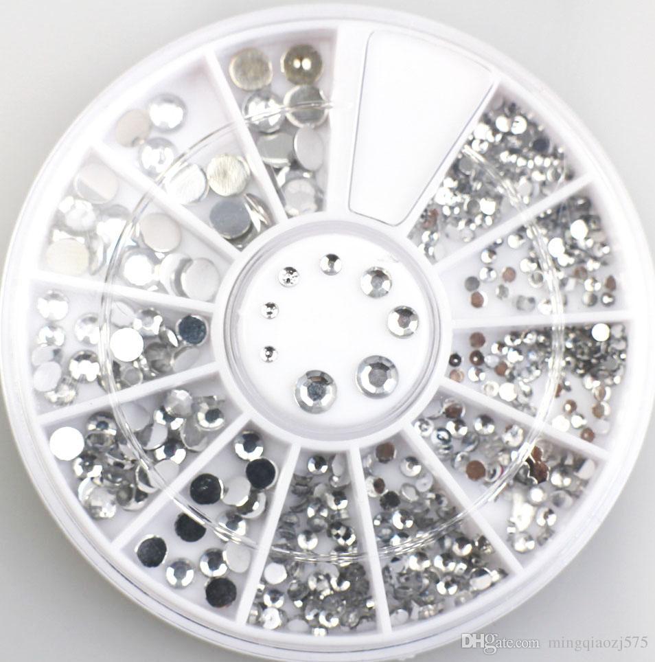 Großhandel 3d Nail Art Dekorationen Acryl Diamant Formen Rhinestones ...