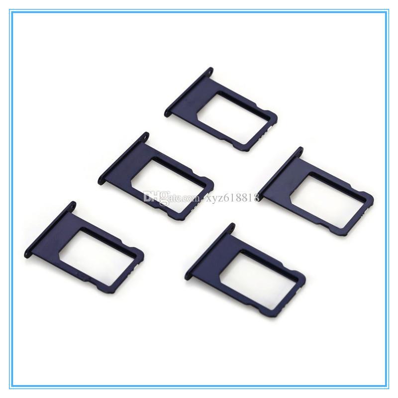 Бесплатная доставка SIM-карты лоток держатель слот замена адаптер для iphone 5 5C 5S 5G 4 4G 4S SIM-карты держатель адаптера гнездо