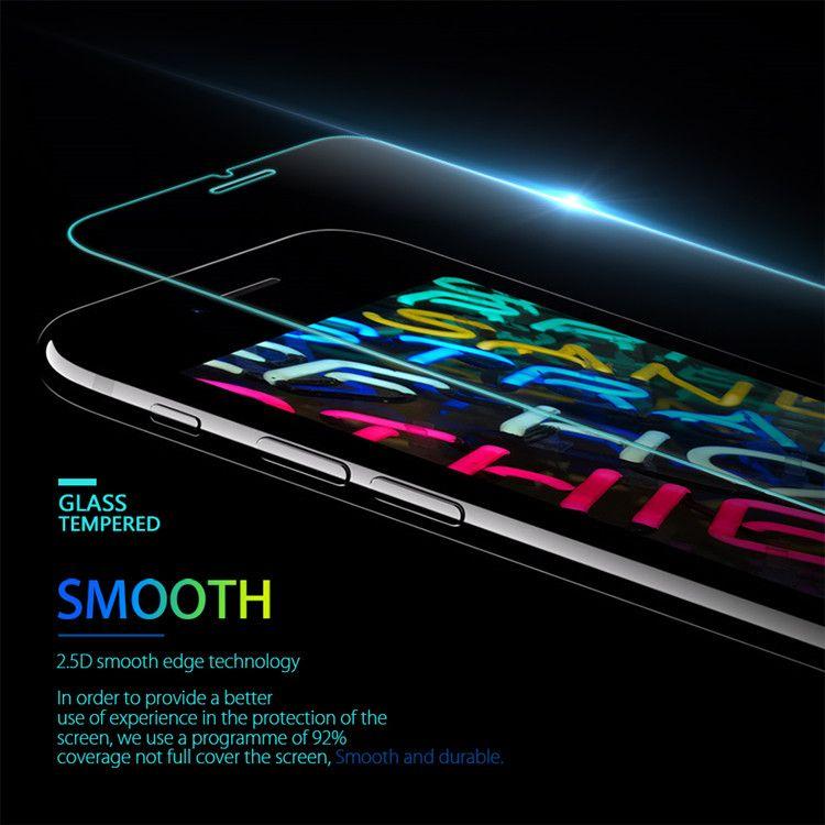 iPhone 12 SE 2020 Samsung A21s A71 LG Stylo 5 Huawei P40 Ekran Koruyucu 0.33 mm Koruyucu Film Bireysel Paketi için temperli cam