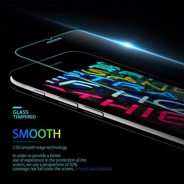 Vetro temperato iPhone 12 SE 2020 Samsung A21s A71 LG Stylo 5 Huawei P40 della protezione dello schermo della pellicola della protezione 0.33mm Pacchetto individuale