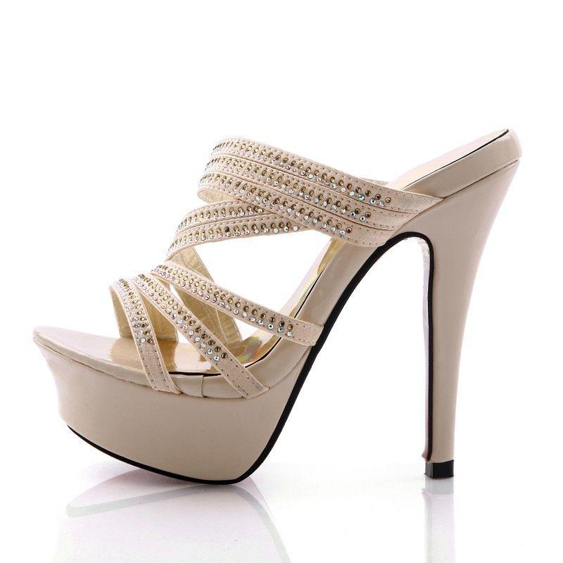 platform sandals Sexy high heel