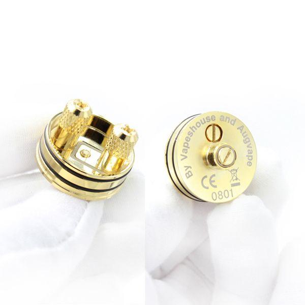 Buharlaştırıcı Druga RDA Atomizer Klon 24mm Alüminyum Druga rda 4 Renkler En Iyi E Sigaralar Vape mekanik mod için DHL ücretsiz