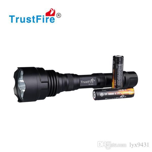 5 LED Flashlight CREE Q5 Hunting LED Aluminium Flash Light 18650 Rechargeable Torch Camping Light Linterna Waterproof Super Bright Lamp Hot