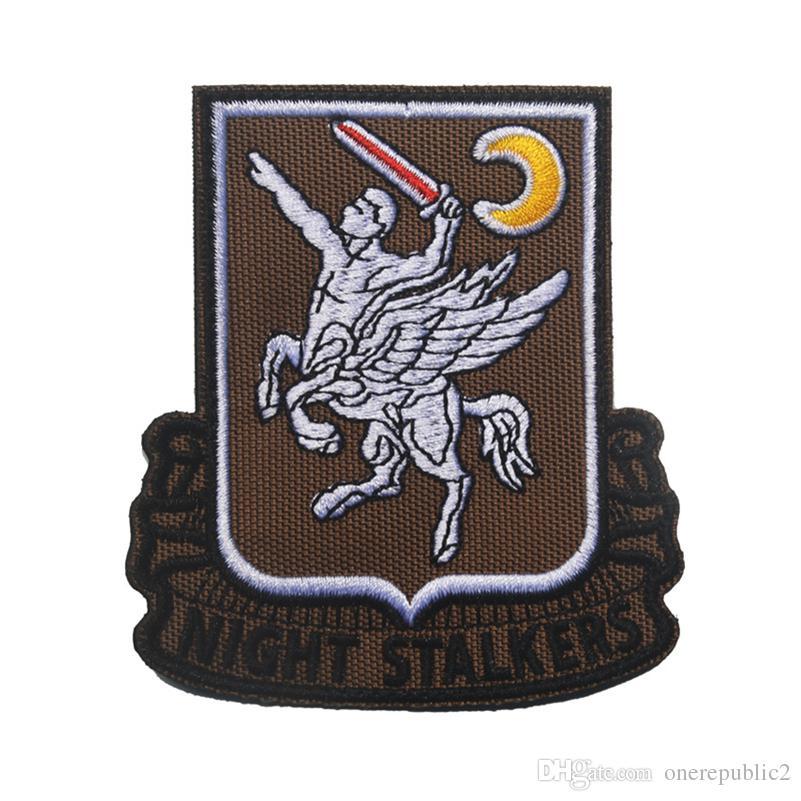 50 ШТ. США Армия 160-й Специальной Операции Авиационного Полка SOAR Мораль Патч Эмблема Тактический HookLoop Знак Вышивки Оптом свободный корабль