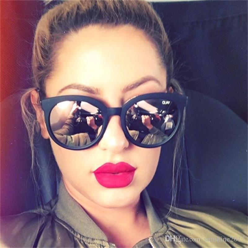 Pembe Yansıyan güneş gözlüğü kadın shades ayna kadın kare güneş gözlükleri kadınlar için kaplama óculos 2017 moda marka tasarımcısı güneş gözlüğü UV400