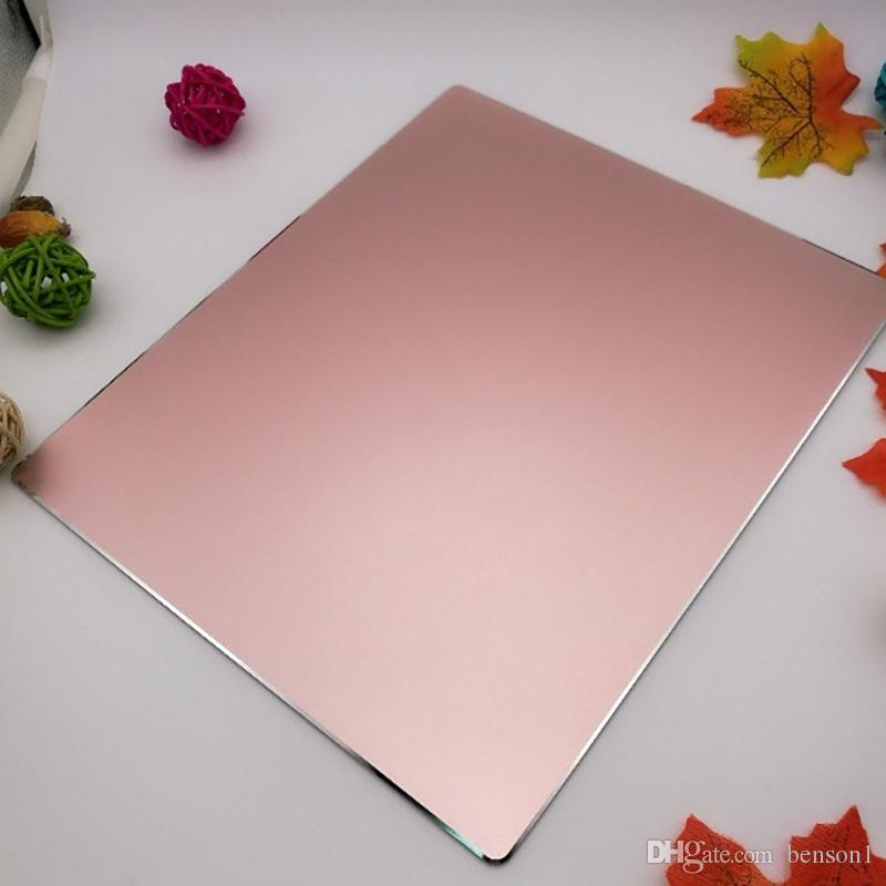 Waterproof Metal Aluminum Non-slip Game Mouse Pad Computer Laptop Gaming Mouse pads High Quality DHL free