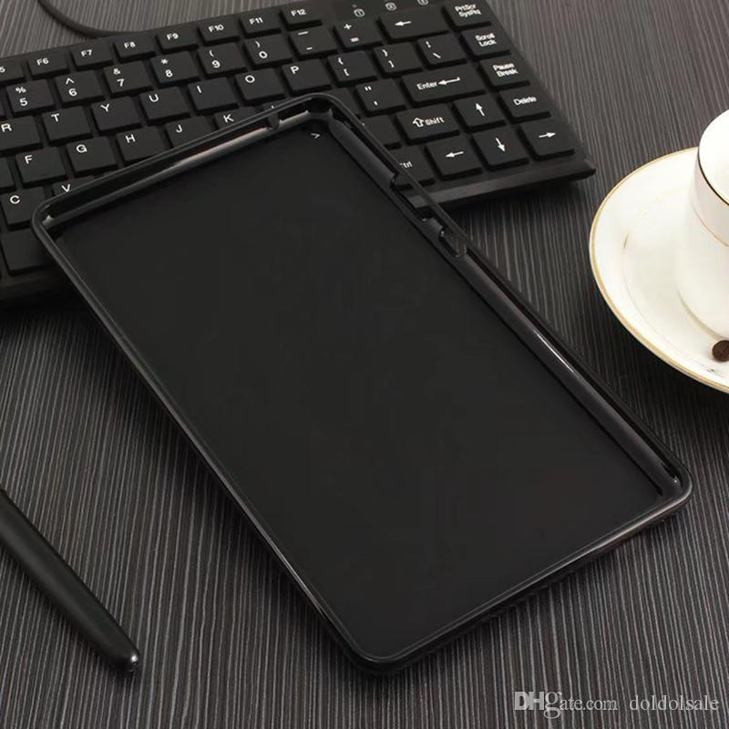 """Soft Silicon TPU Back Cover Case for Huawei MediaPad T3 8 8.0 KOB-L09 KOB-W09 8 inch T3 10 AGS-L09 AGS-L03 9.6"""" Honor Play Pad 2"""