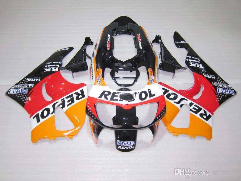 Fairing Kit For Honda CBR 900RR 1996 1997 Yellow Red Black Fairings Set CBR900RR 96 97 OT02 Best Aftermarket Motorcycle
