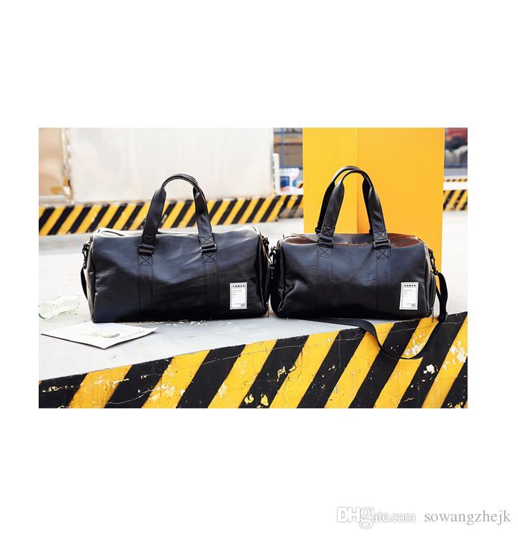 Высокое качество высокой емкости женские мужские путешествия вещевой мешок сумка сумки большой емкости спортивная сумка