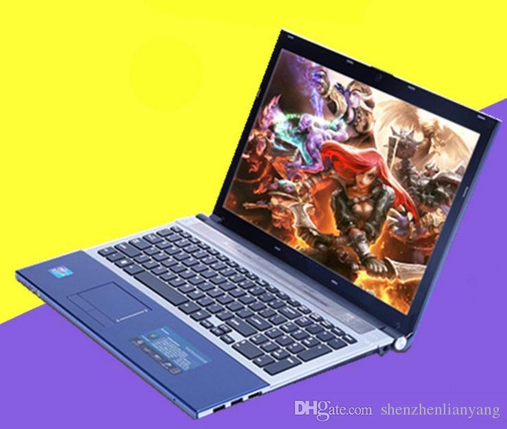 New 15.6 Inch Laptop Notebook Qual Core CPU J1900 with 8GB RAM 1TB HDD WIFI HDMI PC Computer Black blue DHL FREE