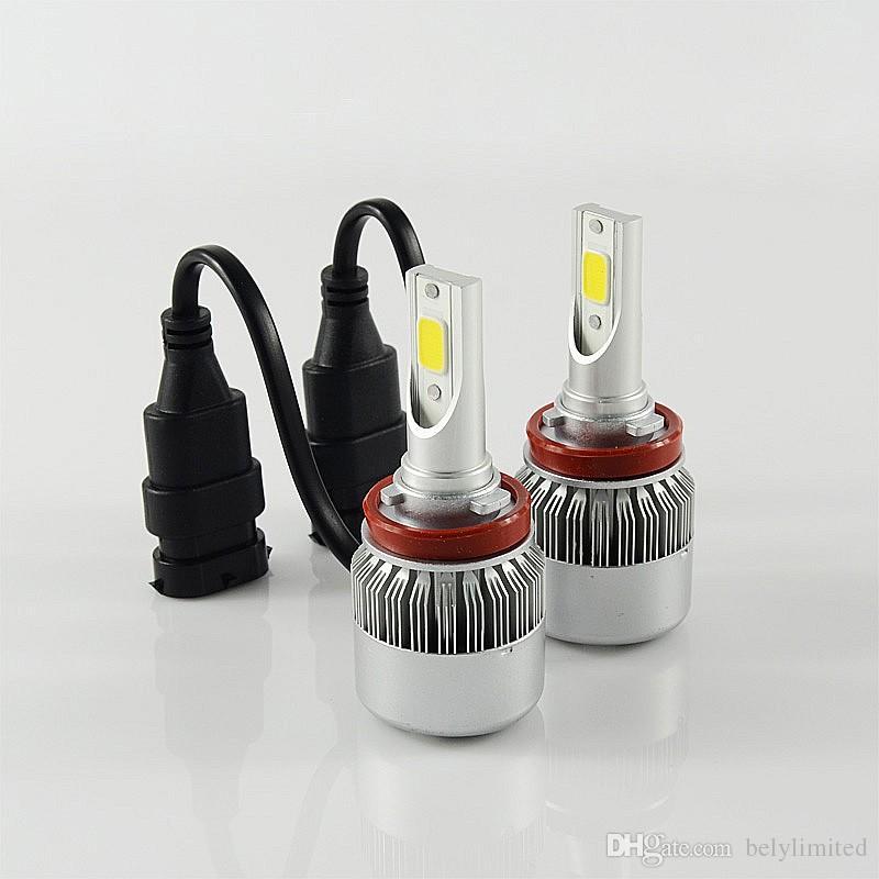 36W 3600LM COB H8 H9 led phares H7 9005 9006 H11 H10 H1 H3 880 LED phares phares phare LED phare de voiture