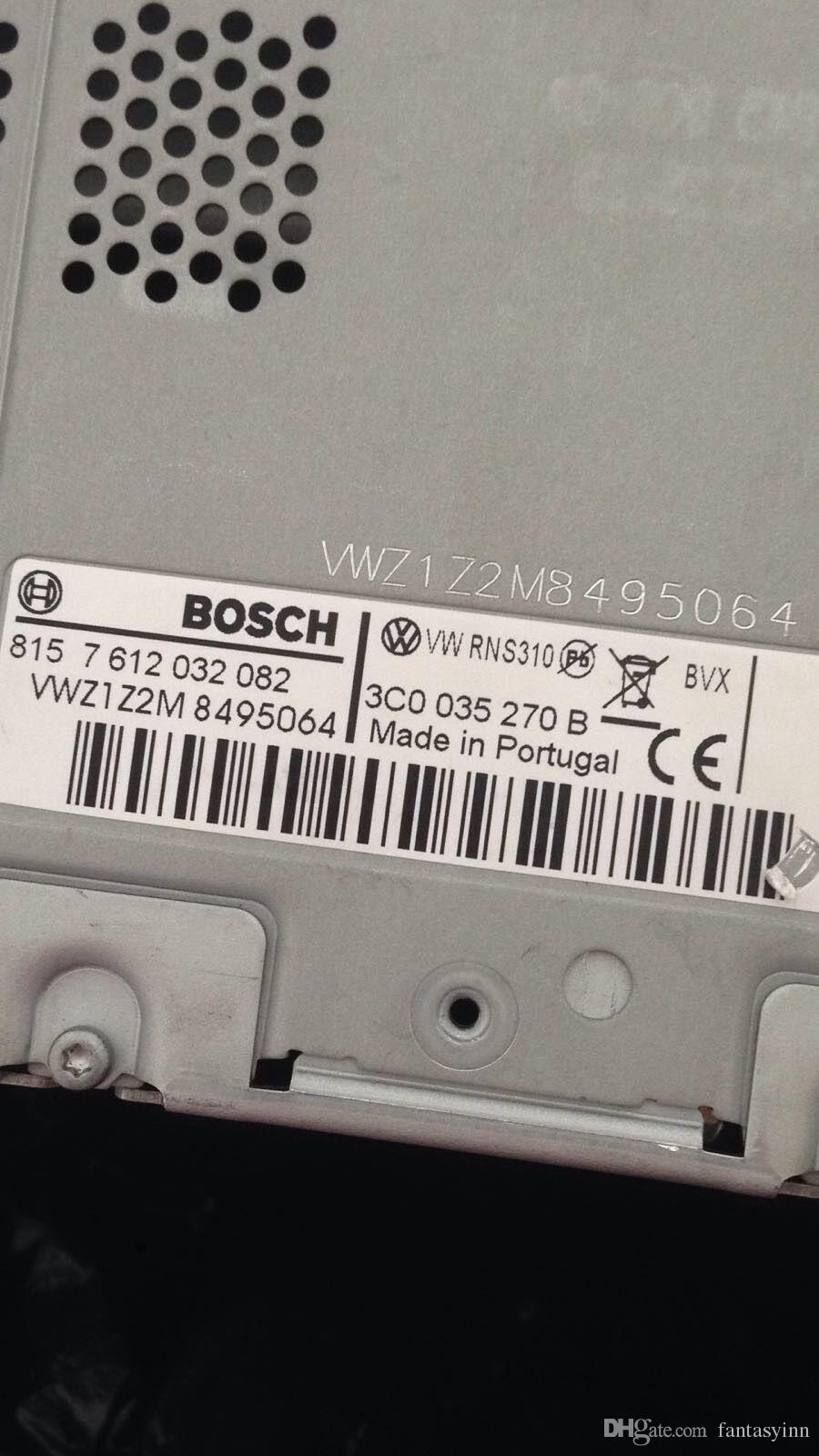 Sblocca Decode Servizio Volkswagen VW autoradio navigazione sblocco Decode Servizio FIT VW RNS310 RNS315