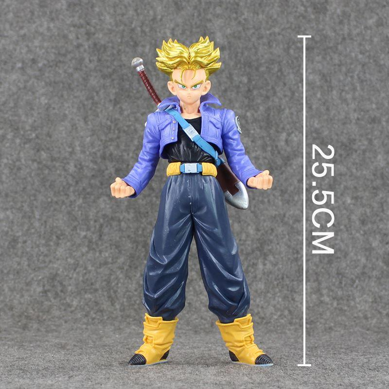 caa1d31dc094 High quality Dragon Ball Z MSP Master Stars Piese The Super Saiyan Trunks  PVC Figure Collectible Model Toy
