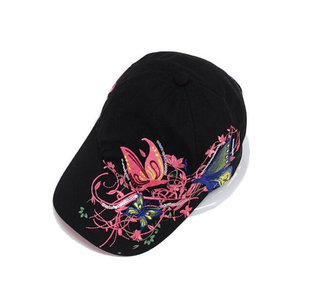 Wholesale New Fashion China Style Baseball Cap Fashion Leisure Flowers Hats  Vintage Adjustable Baseball Hat Cap For Women Fitted Caps Black Baseball Cap  ... 2dd64b7910