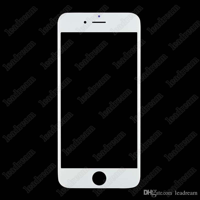 Black White Front Outer Touch Screen Glass Replacement for iPhone 6 Plus 6s Plus with Tools