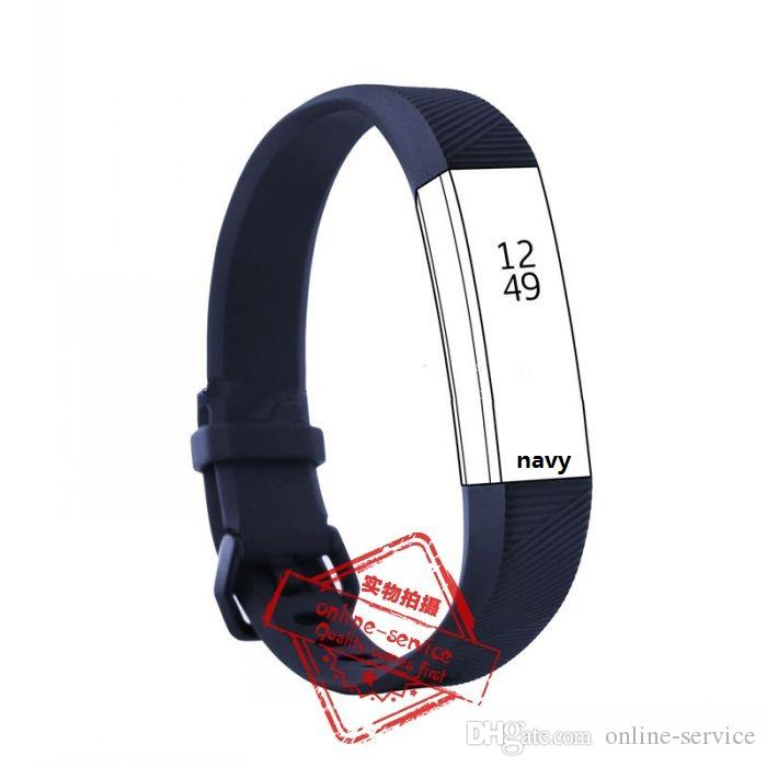 NEW Watch CLASP TYPE Fitbit alta HR Band With Clasp Replacement TPU Wrist Strap Wireless Bracelet Wristband With Metal Clasp