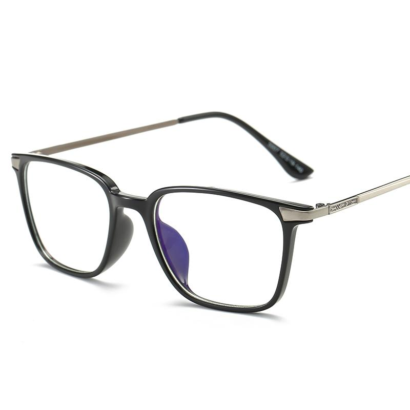 8a4647e829 Wholesale- Black Computer Glasses With Clear Lens Optical Reading ...