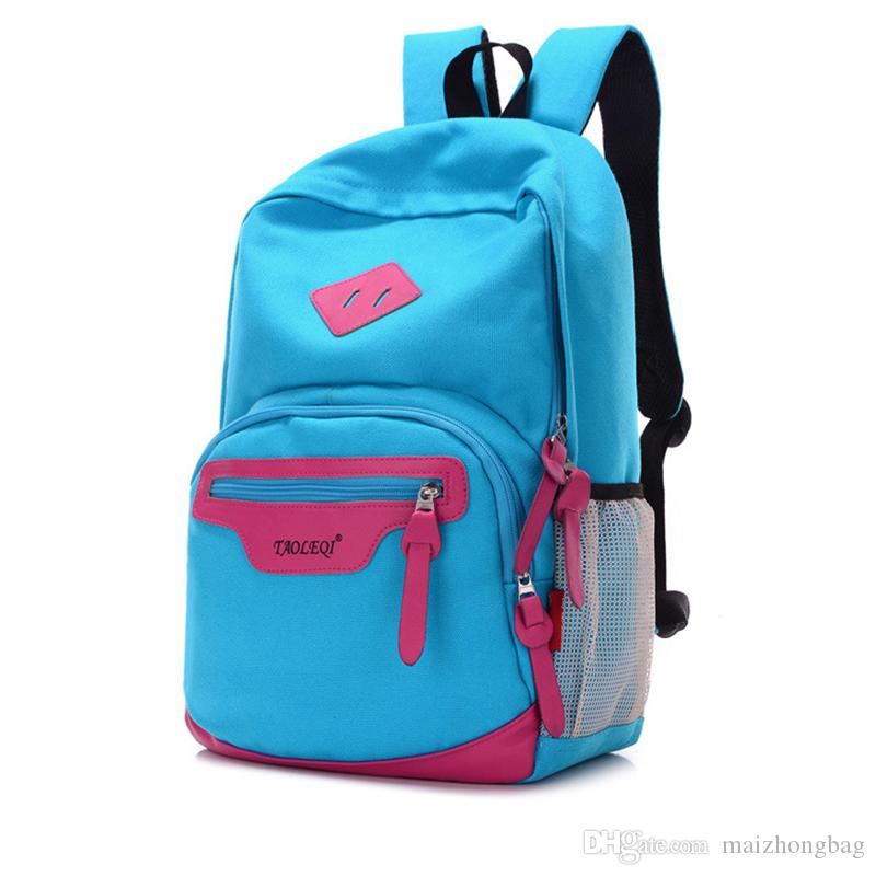 School Bags For Teenage Girls Fashion Mochilas Canvas Material Cheap Price School  Backpack Wholesale Can Choose Canada 2019 From Maizhongbag 457d4d0d62ff4