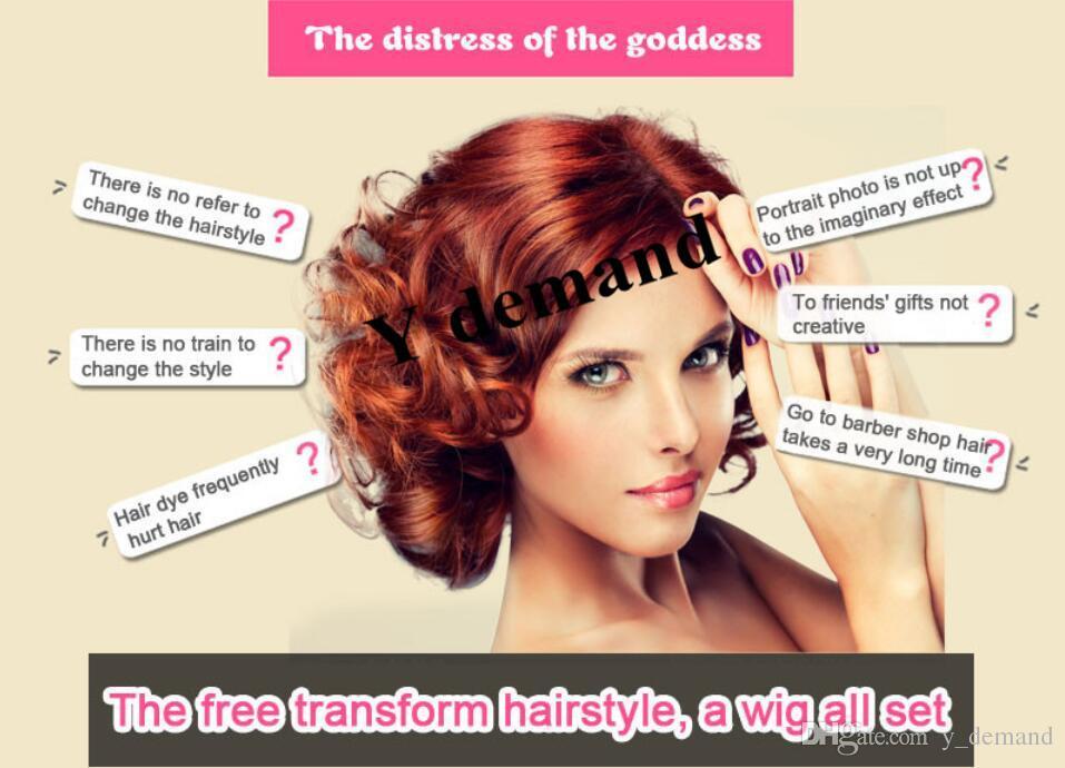 Kadın Moda Büyüleyici Uzun Kıvırcık Peruk Saç Örgü Peruk Stil Siyah Kadınlar Için Tam Peruk Y talep