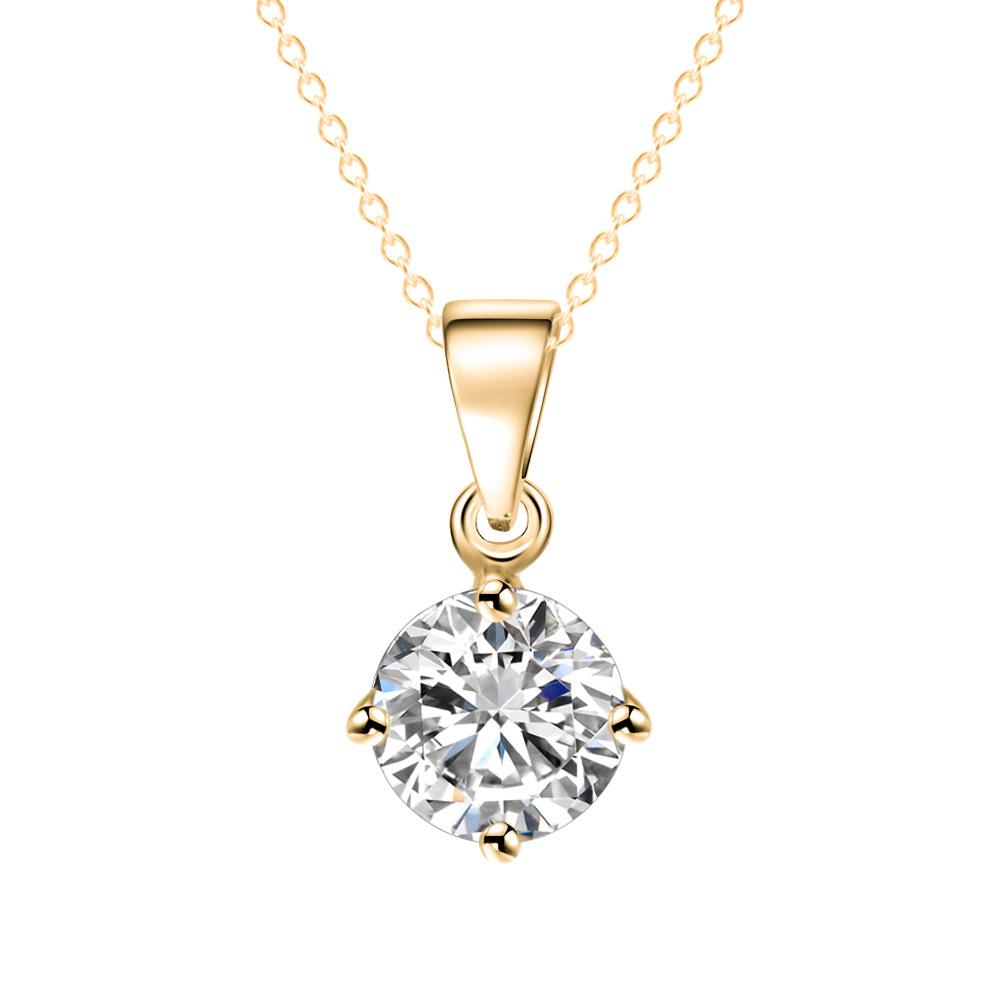 Wholesale Korean Style Simple Alloy Necklace, Hot Sale Jewelry ...