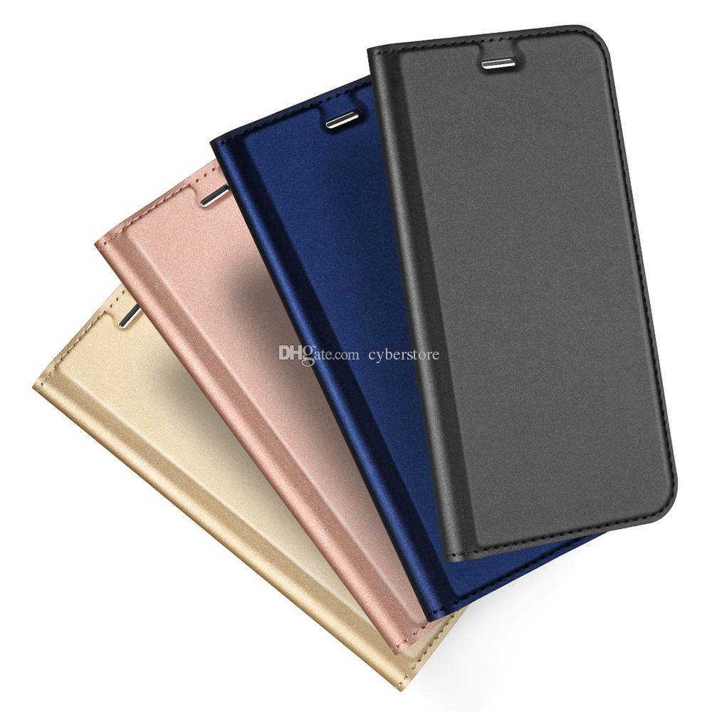 the latest 2bbe3 daea1 For iphone 6 7 Plus Slim Leather Flip Case Luxury Soft TPU Ultra Thin  Wallet Book Magnetic Cover For iphone7 5 SE 6S