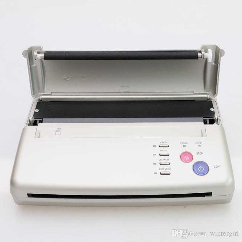 Sliver Tattoo Transfer A4 Transfer Paper Tattoo Copier Thermal Stencil Copy Machine Thermal Copier Stencil TC206