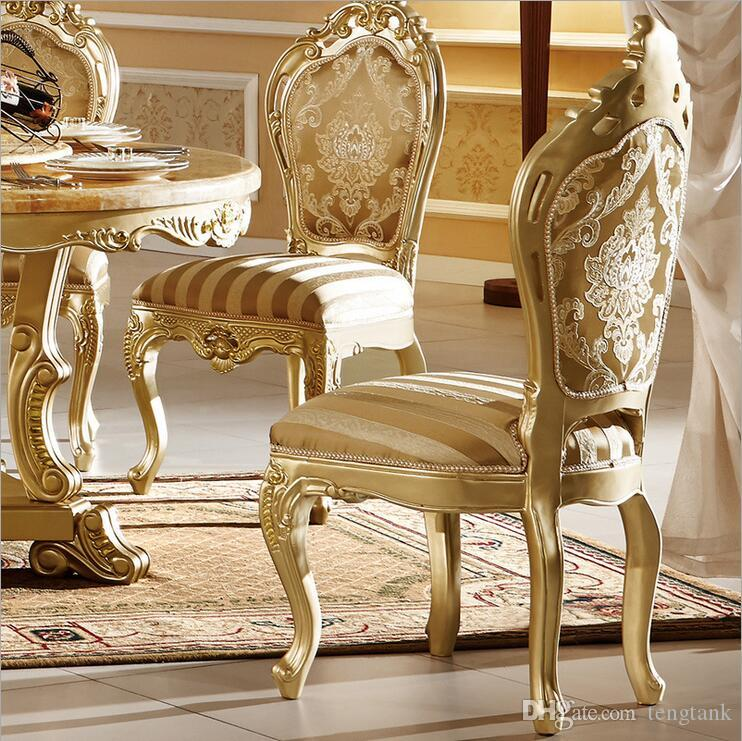 hot selling Antique Style Italian small table, 100% Solid Wood Italy Style Luxury tea Table Set chairs pfy10088